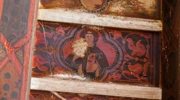 Detalle Artesonado Sotocoro de la iglesia de san Lorenzo