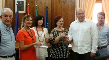 Reunión alcalde con AFIXA