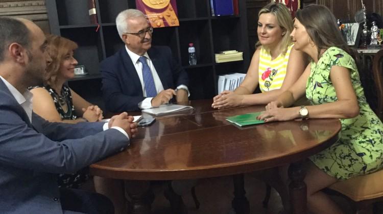 Reunión alcaldesas Úbeda y Baeza