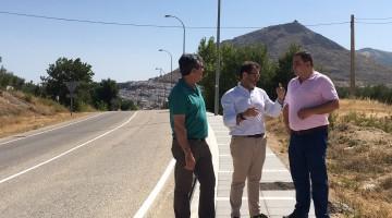 Valdivielso obras acceso polígono Martos-2. 11-07-2017