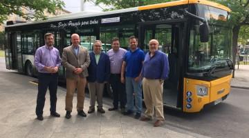 presentación autobús urbano