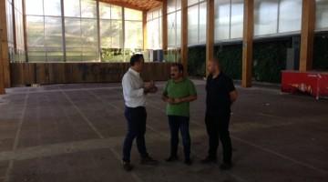 20170823 Visita obras Diputación Cazorla