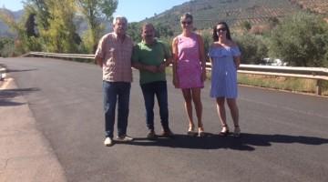 20170825 Visita carretera Puente Génave a Peñolite