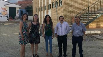 Caballero-Visita colegio Juan Pedro Alcaudete 04-08-17