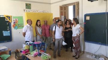 Cobo-Visita CEIP San Roque 03-08-17