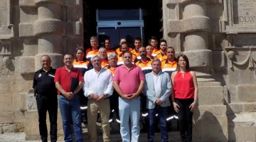 Ortega- Presentación agrupación Protección Civil Martos 17-08-17