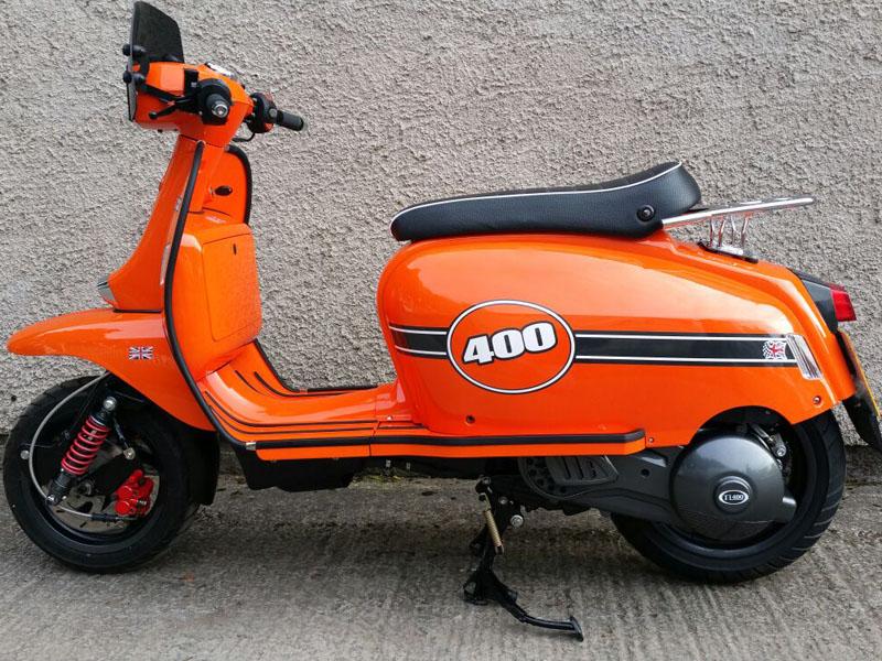 Scomadi prepara el desembarco con el TL400 que se actualiza para se mas eficiente y una alternativa en el competido segmento de los scooter.
