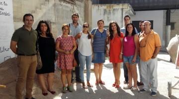 Yolanda-Visita CEIP San Isicio Cazorla 24-08-17