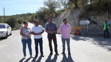 20170911 Visita obras acceso La Hortichuela 1