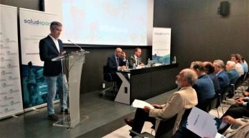 Acto de presentación de salud+deporte conducido por Ángel Acién