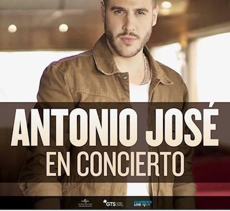 Antonio José en concierto