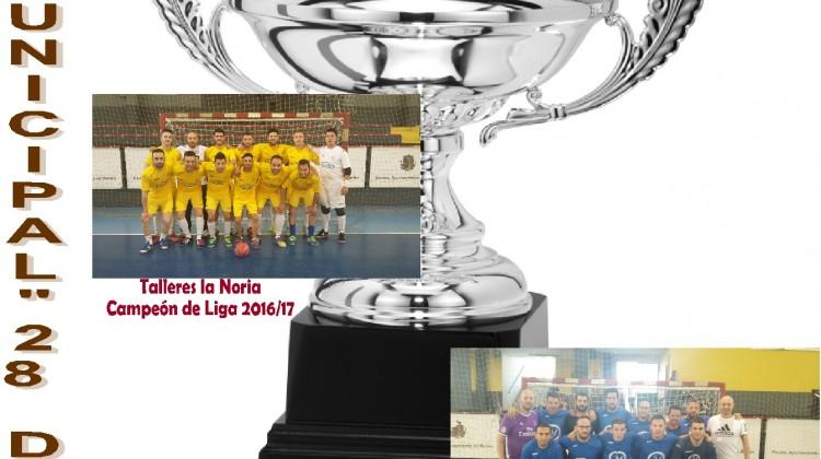 Cartel Supercopa fútbol Sala