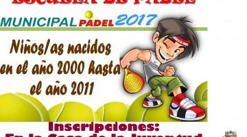 Escuela de Padel 2017