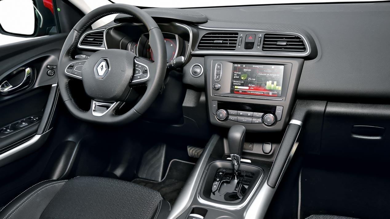Motor sport horaja n se sube al nuevo renault kadjar for Interior renault kadjar