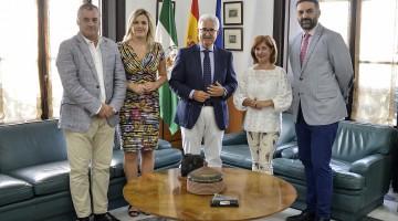 Jiménez Barrios-Reunión alcaldesas Ubeda y Baeza 20-09-17