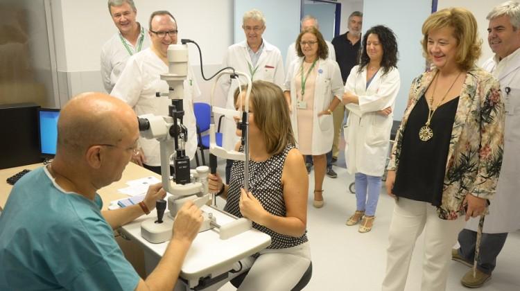 Nuevas instalaciones Oftalmología 2 08-09-17