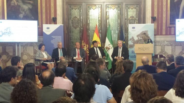 Participación alcalde en Jornada Europea