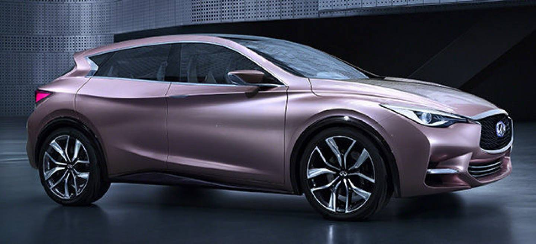 El Infiniti Q30 Concept se aleja de tradicionalismos y diseña un compacto alternativo.