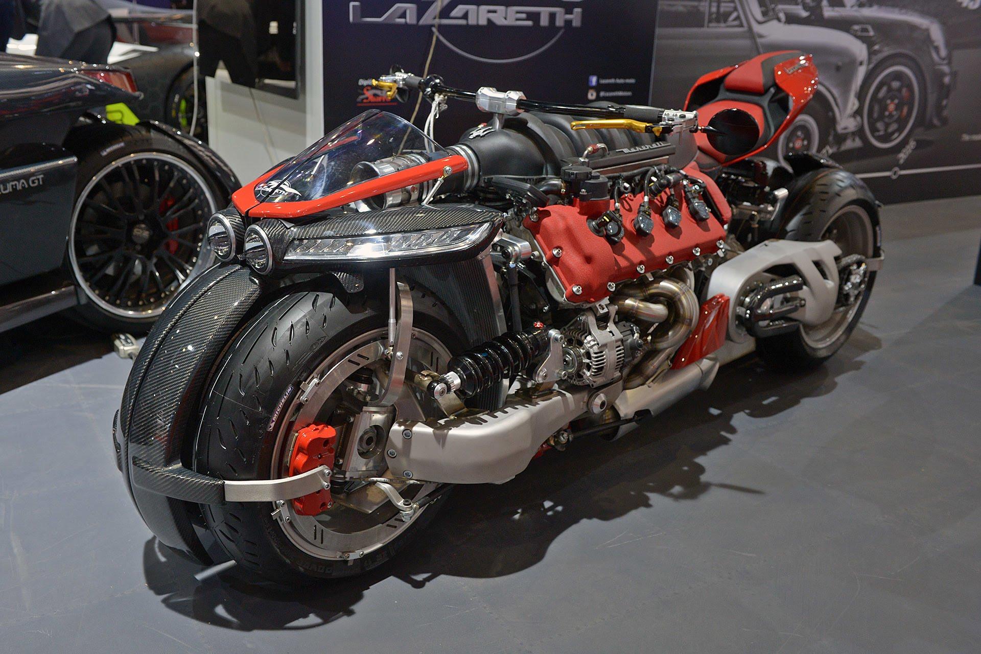 Bestial la Lazareht LM 847 y los 470 caballos provenientes de Maserati.