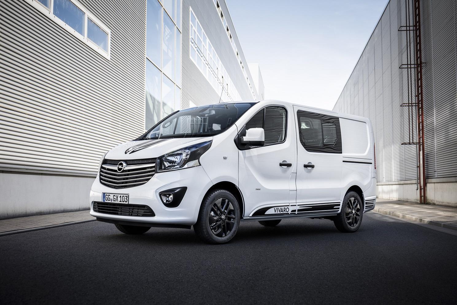 El Opel Vivaro Sport ofrece una alternativa para los que buscan un vehiculo comercial y el confort y la deportividad de un turismo.