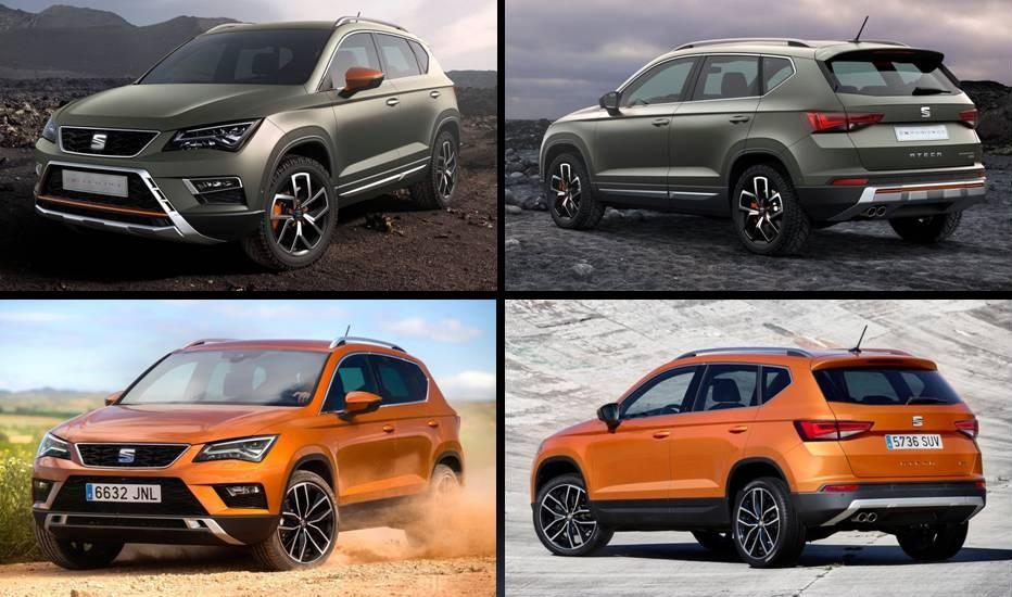 Más todoterreno que SUV, el Ateca X-Perience se ha diseñado para los más aventureros.