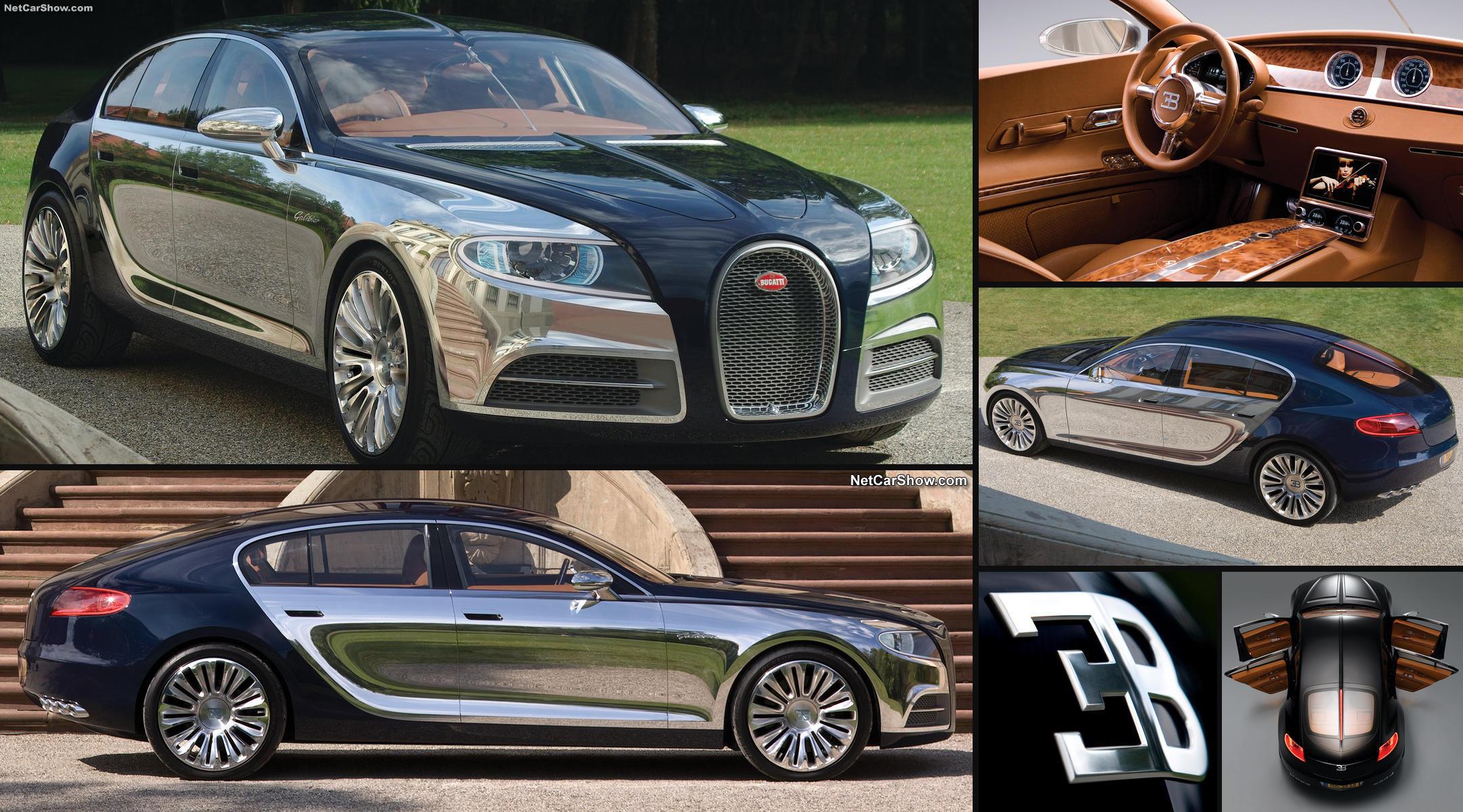 El Bugatti 16C Galibier se convierte en la berlina familiar de altas prestaciones y potencia.