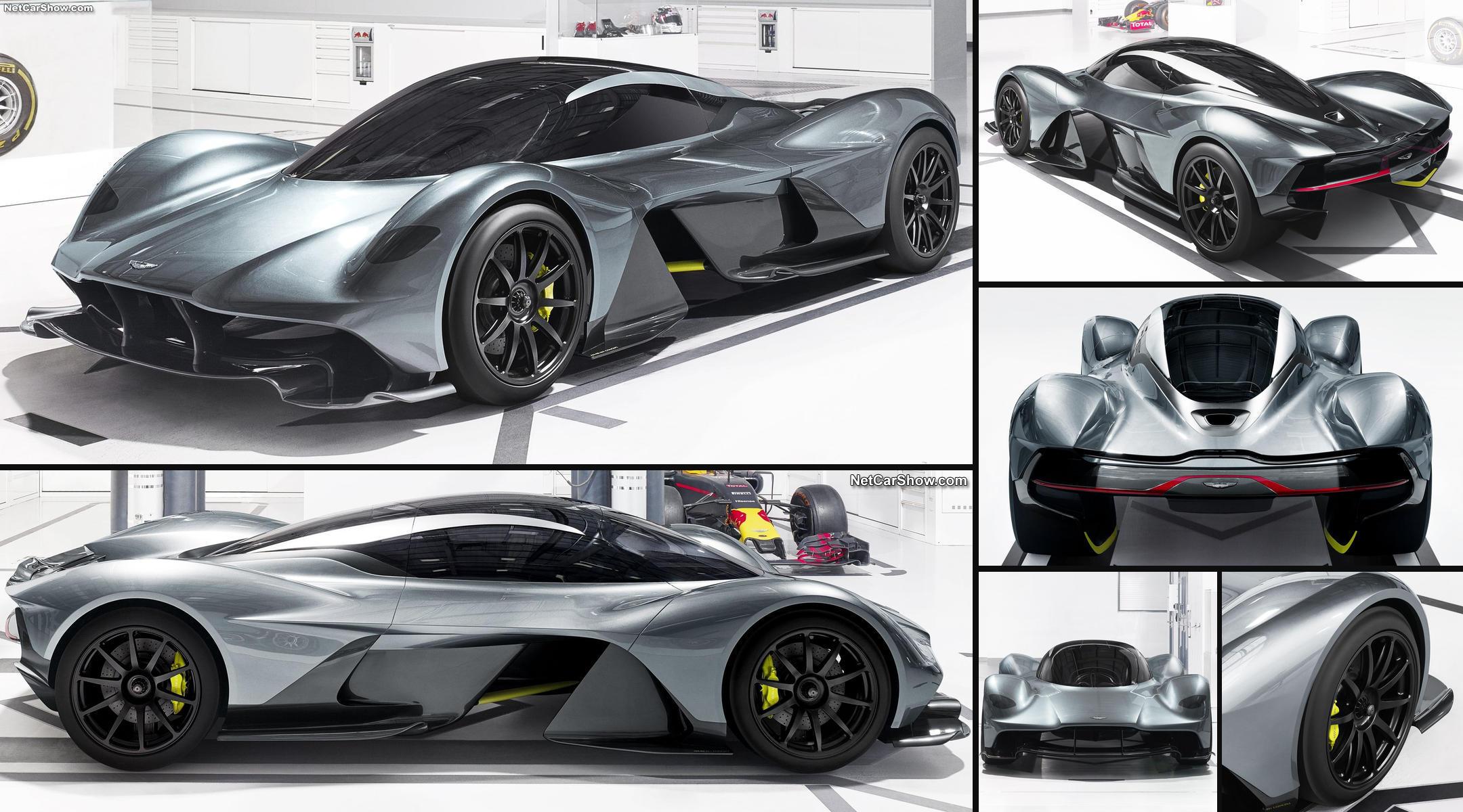 """Aston Martin y Red Bull han creado esta """"criatura"""" exclusiva para uso mixto en carretera y circuito."""