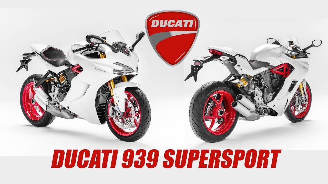 Ducati con la SuperSport ofrece una moto de careras para la calle.