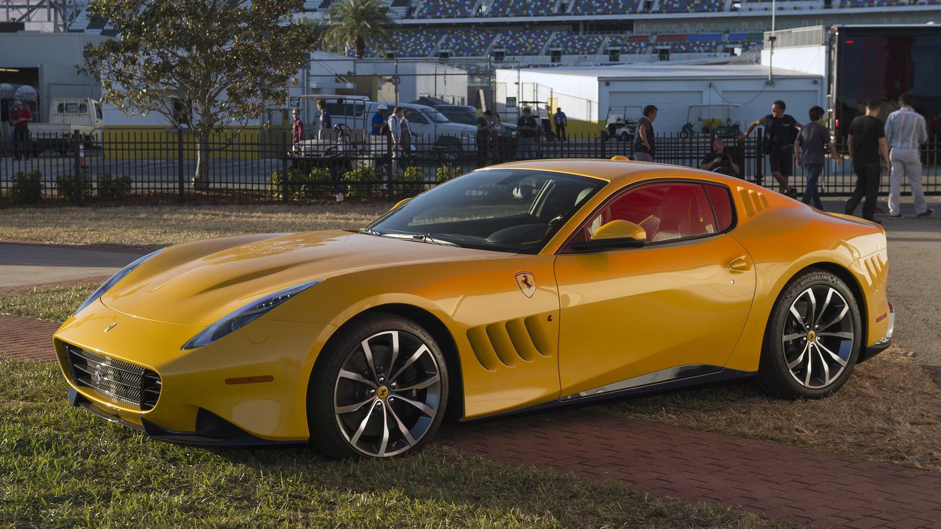 El Ferrari SO275 RW Competizione es un modelo único diseñado para un cliente con mucho dinero.