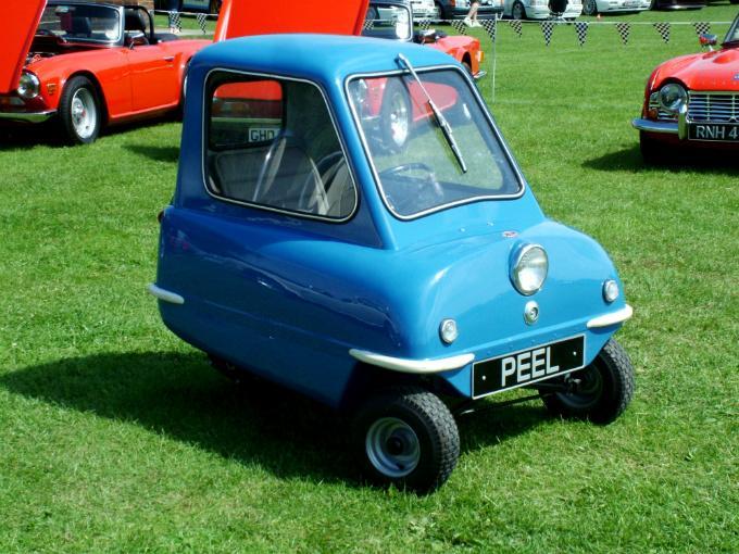 El Peel P50 se convirtió en la alternativa pequeña de un vehiculo singular e histórico.