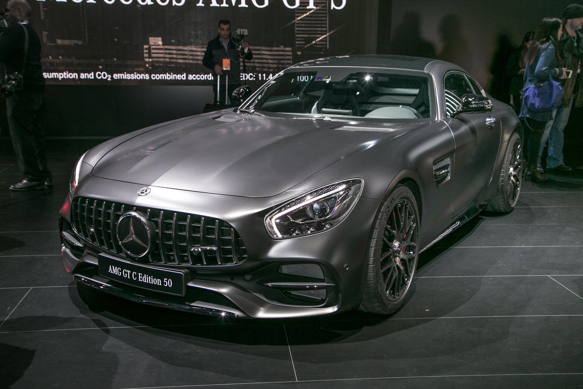 Exclusividad y potencia para el Mercedes AMG GT C Edición 50, en su cumpleaños, para cien afortunados.