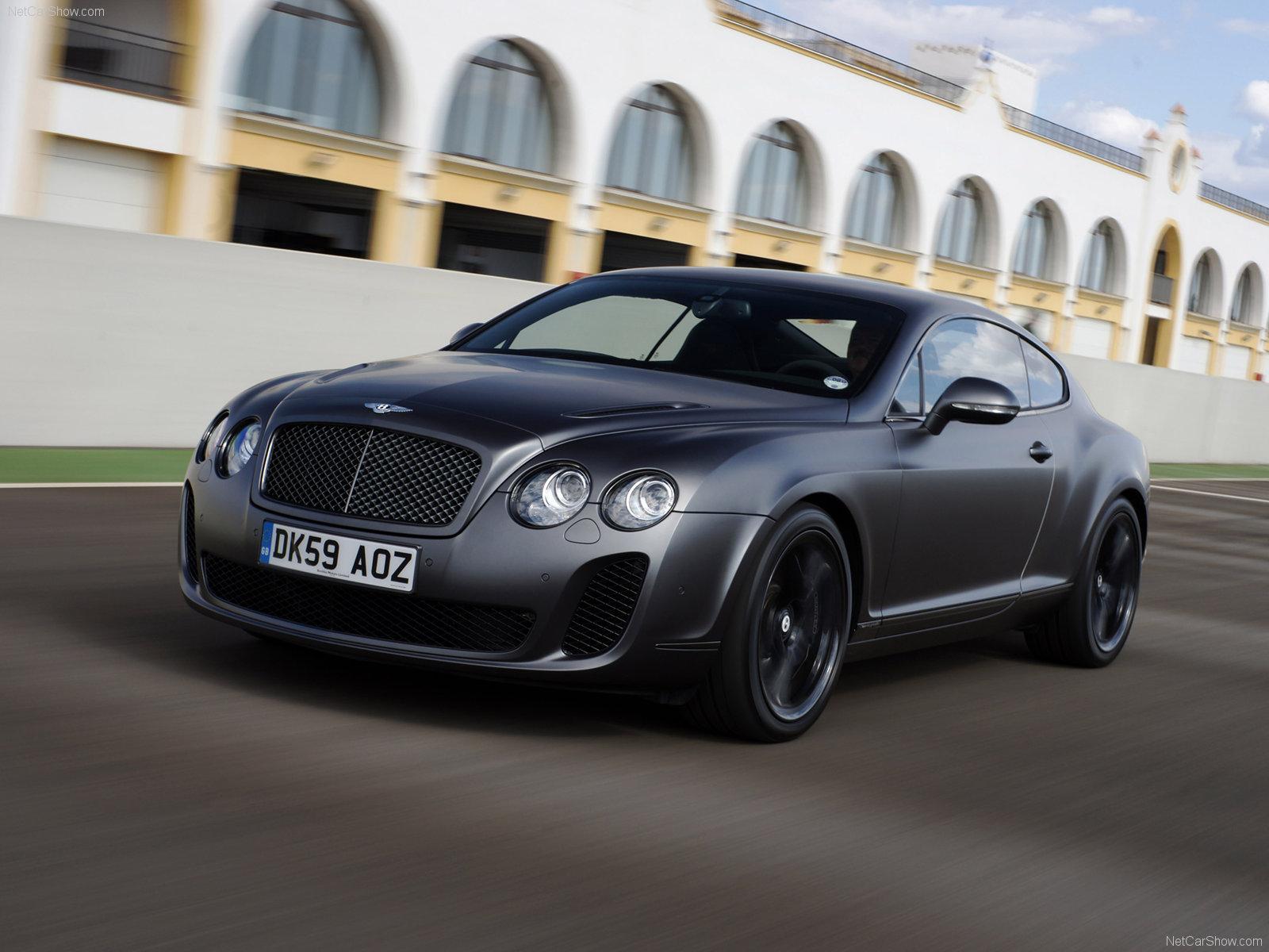 Lujo y altas prestaciones para el Bentley Continental Spuersports británico.