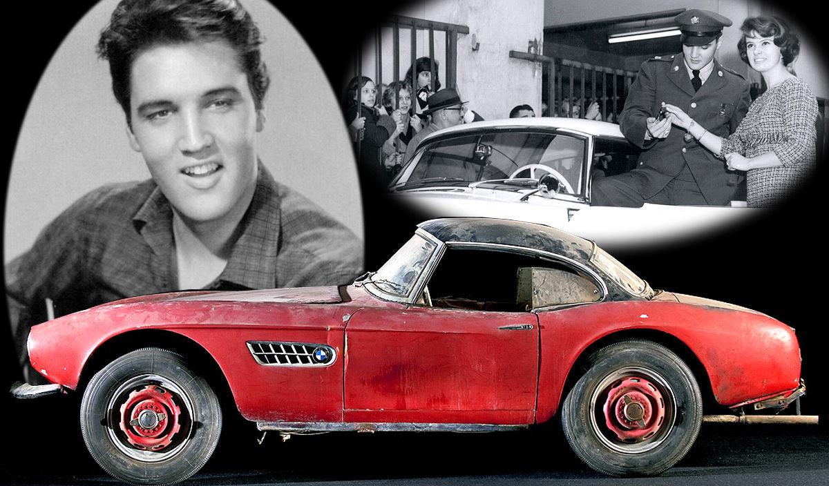 El descapotable 507 de BMW que condujo Elvis Presley se ha restaurado por completo en el departamento de Clásicos de la marca bávara.