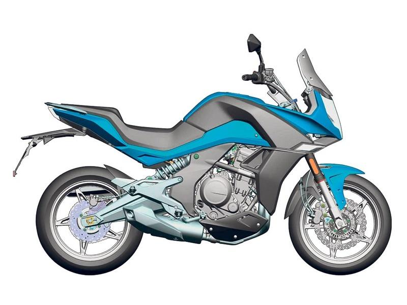 La CFMoto 650MT es la moto económica pensada para el asfalto con aptitudes y aspecto de trail.