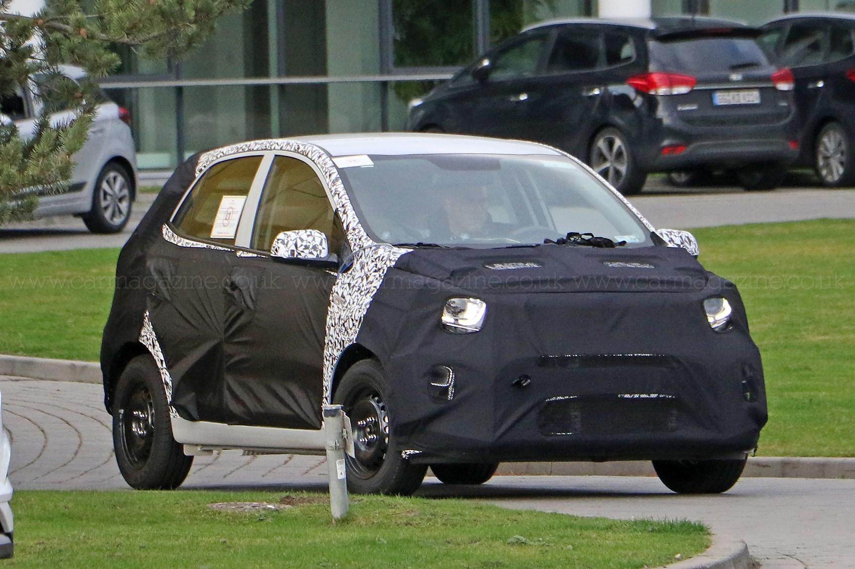 Atractivo, actualizado y agresivo. Así se presenta el nuevo Kia Picanto que vendrá a principios del año.