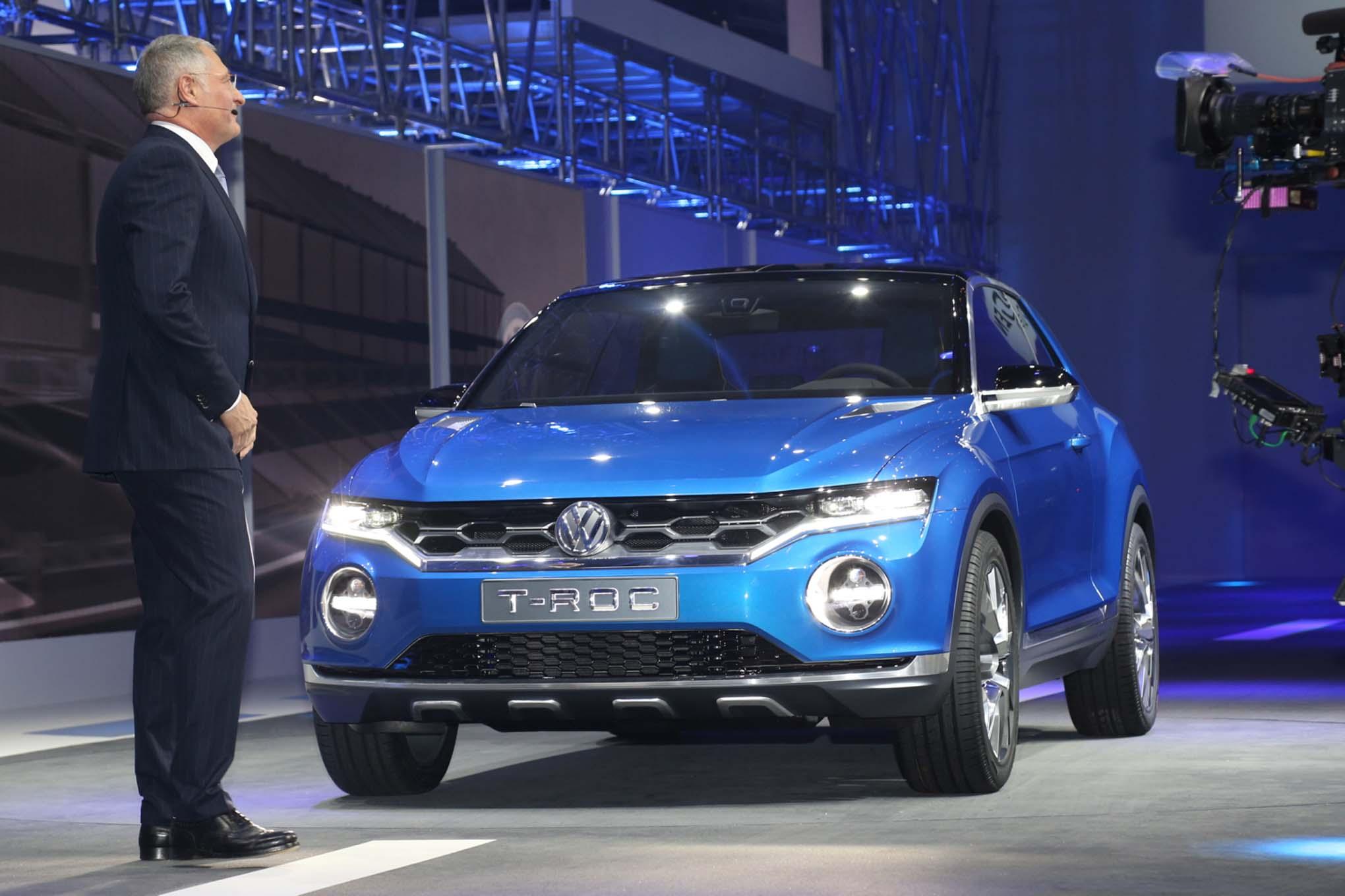 El Golf se trasformara en un SUV urbano con personalidad y detalles propios que se llamara T-Roc.
