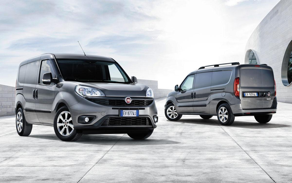 Fiat incorpora a la Doblo un amplio dispositivo de seguridad y rentabiliza su uso con motores de bajo consumo y mantenimiento.