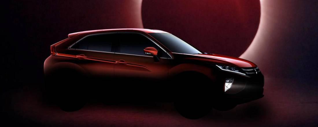 Historia, nombre compuesto y alma deportiva. Así será el Mitsubishi Eclipse Cross, un todocamino con personalidad japonesa y el brillo del Sol que nace.
