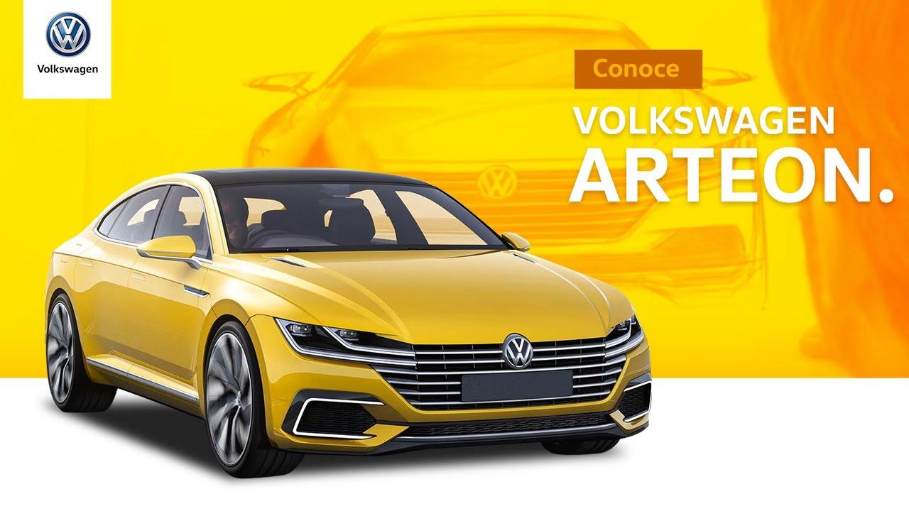El nuevo Volkswagen Arteon eleva el diseño y lo refina para convertirse en un Sedan Coupe muy refinamiento.