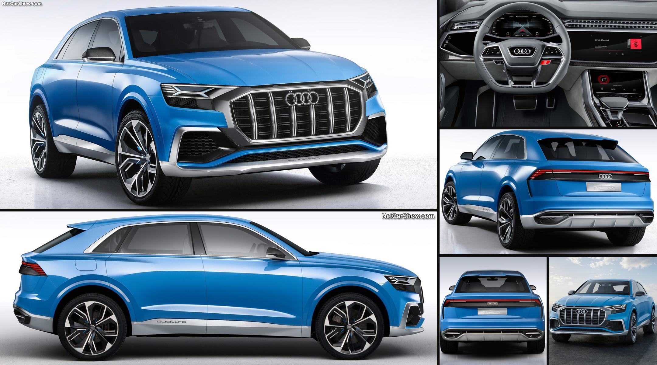 Lujo elevado a la expresión absoluta para un modelo cumbre de Audi que destaca en su conjunto y será uno de los SUV elegidos para la gloria en su segmento