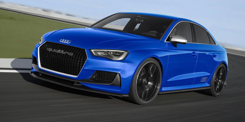 Potente y exclusivo se presenta el RS3 Sportback, el Audi más deportivo de la gama A3.
