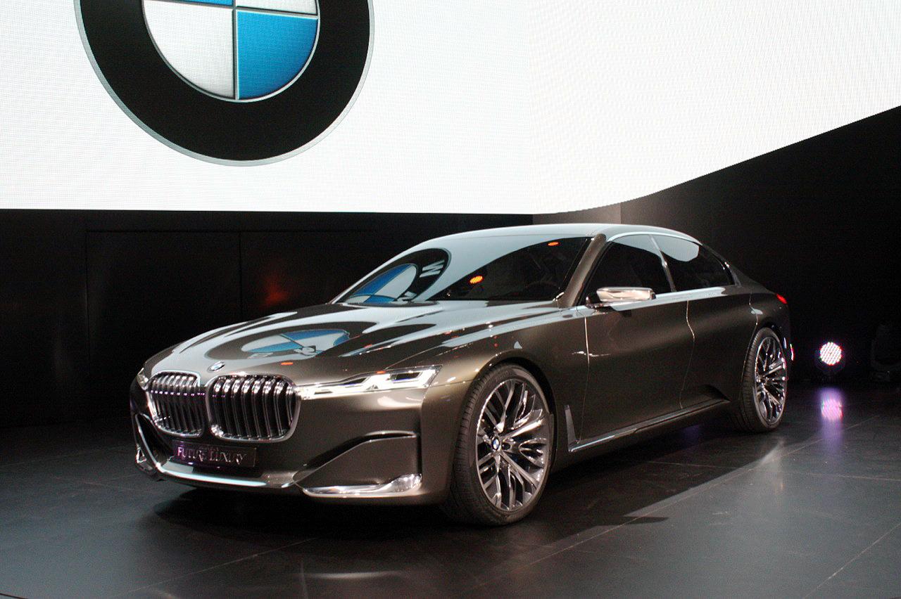 El futuro, cada vez más cerca, llega a BMW en su imparable evolución tecnológica y de diseño que tendrá en este prototipo la base para el futuro Serie 9.