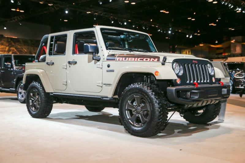 El Jeep Wrangler Rubicon Recon Edition lleva el todoterreno al extremo en cualquier situación.