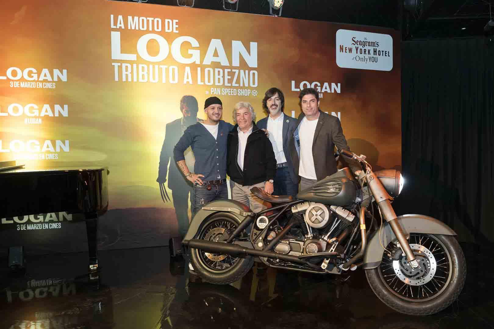 """La Harley Davidson Road King ha sido modificada para ser la moto característica de Lobezno en esta última entrega de la saga con """"Logan"""" como protagonista final."""