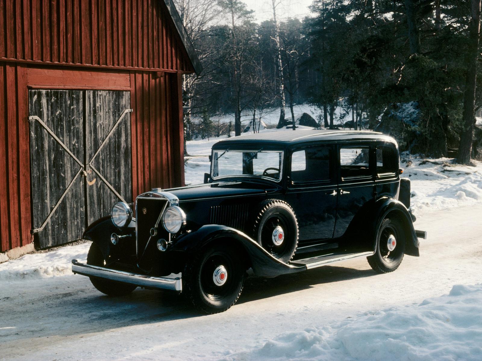 La saga PV introdujo importantes novedades técnicas y de confort, además de los motores de seis cilindros que Volvo empezó a utilizar con potencias de entre 65 a 84 CV.