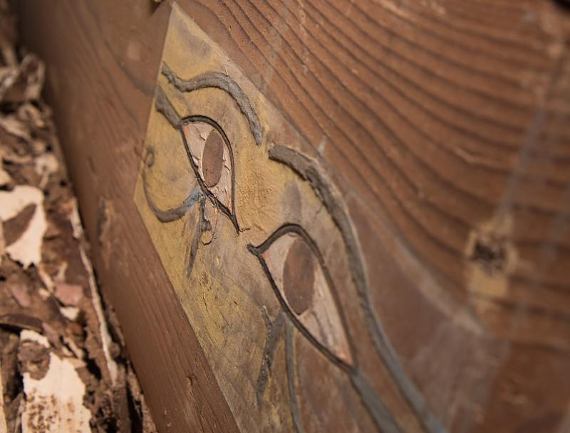 Imagen de la tumba localizada en Asuán. FOTO: Patricia Mora