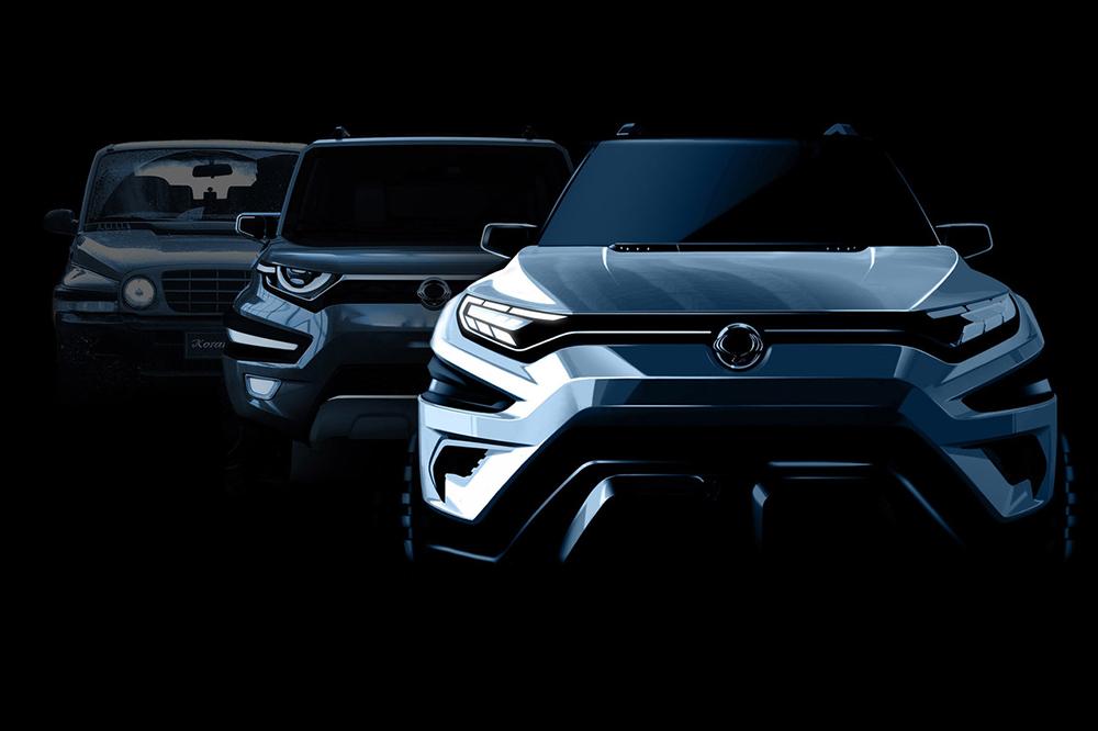 Con diferentes inspiraciones de diseño, el nuevo Concept de SsangYong será un paso al frente de futuro en su gama de todocaminos y un aumento de plazas para sus ocupantes.