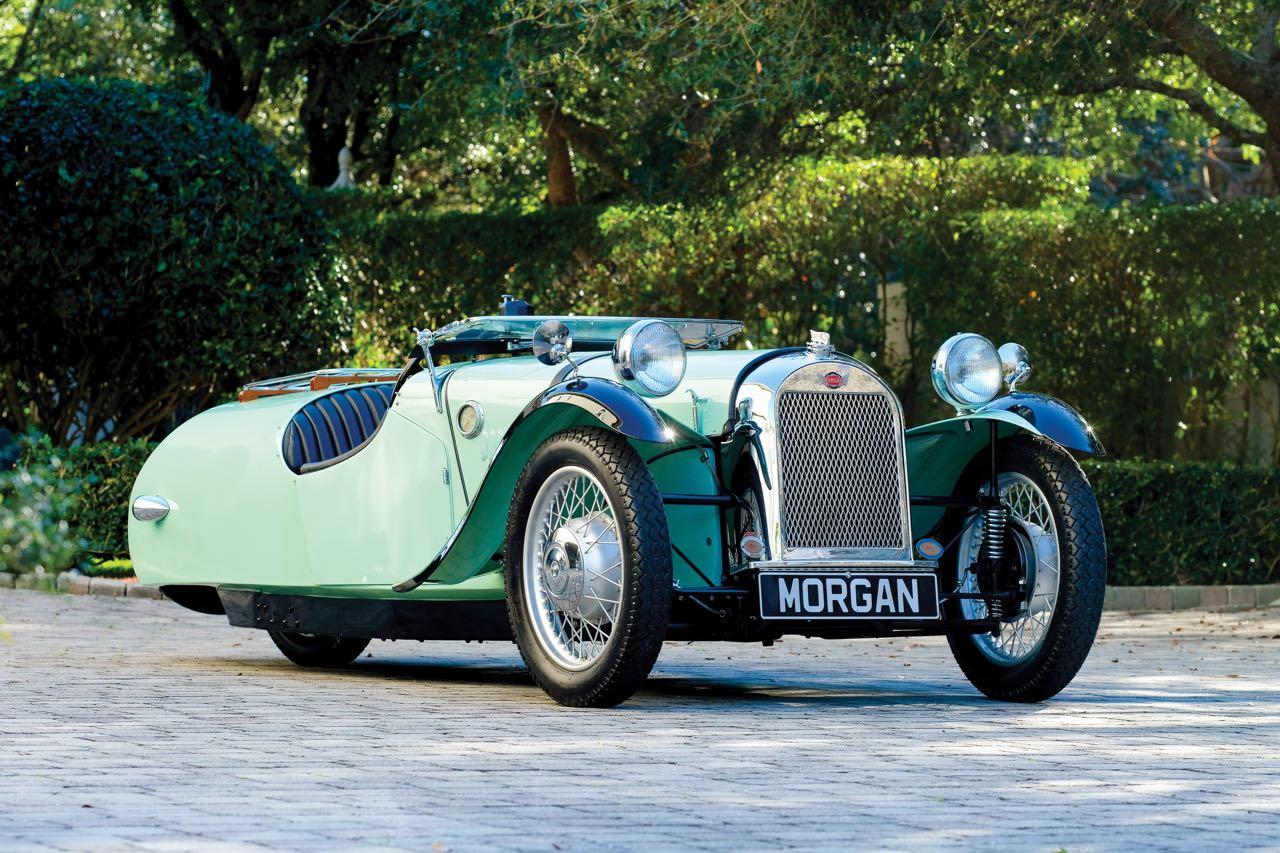 Morgan abandonó la religión para fabricar sus automóviles que fueron un éxito e innovación. El F-Súper marco una historia de los clásicos que sobrevivió al propio Hitler.