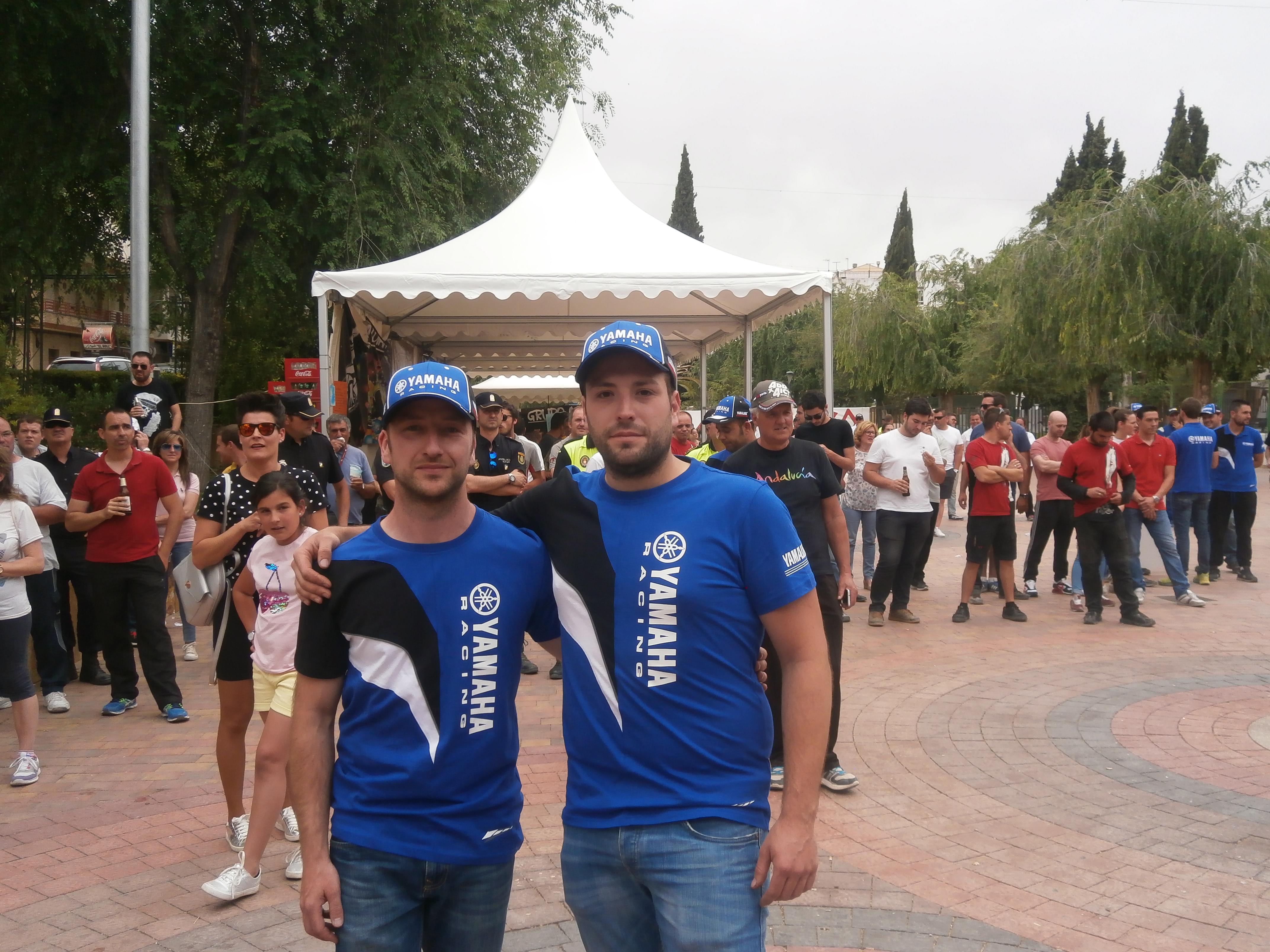 El equipo de Mancha Real formado por Pedro José Delgado y Sebastián López llevaron a cabo una gran carrera con su Yamaha YZX 1000R.