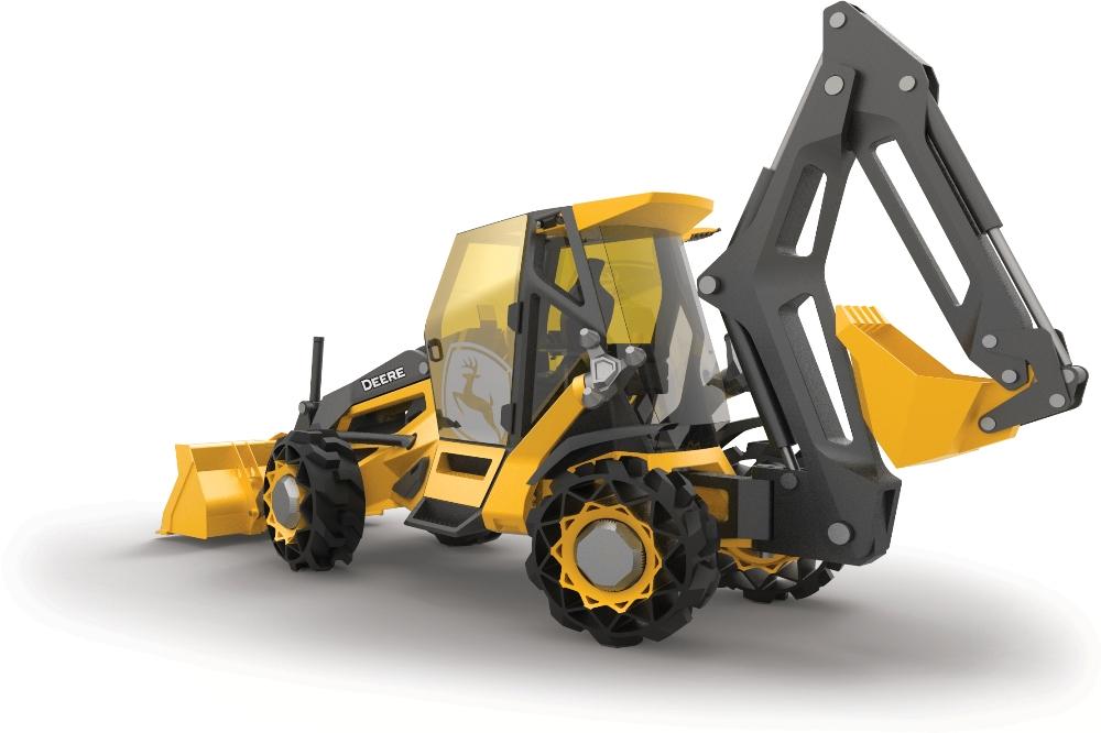 Un proyecto de futuro en el que BMW y John Deere excavan en el progreso no demasiado lejano en este segmento industrial.
